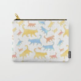 Watercolor Cats - Cats Everywhere! Carry-All Pouch