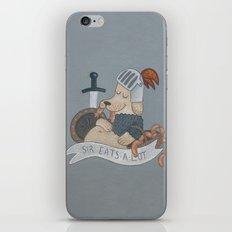 Sir Eats-A-Lot iPhone & iPod Skin