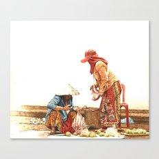 Atis Vendor Canvas Print