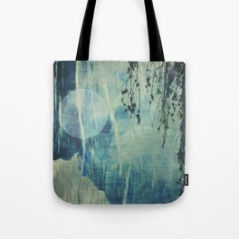 dreaming under the birch Tote Bag