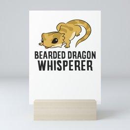 Bearded Dragon Whisperer Mini Art Print