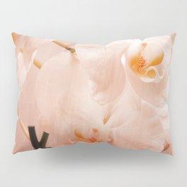 Orchids and Texture Design Pillow Sham