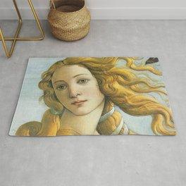 Botticelli Birth Of Venus Rug