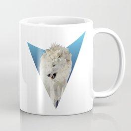 Low Poly Wolf Coffee Mug