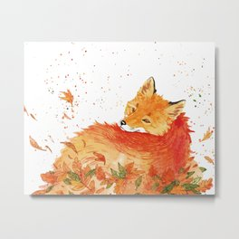 Firefox Metal Print