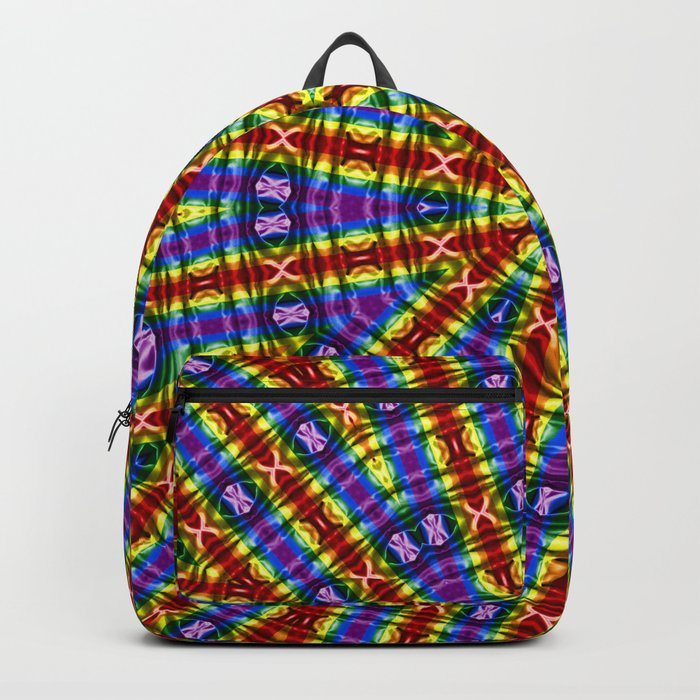 Kaleidoscope Pride Flag Backpack