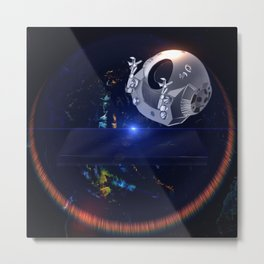 2001 Discovery Metal Print