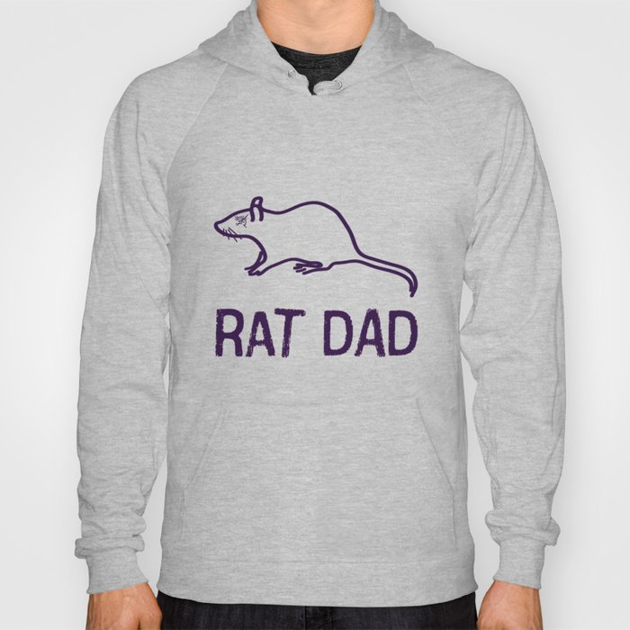 95641e9c Corvo: Rat Dad Hoody by uncageddesign | Society6