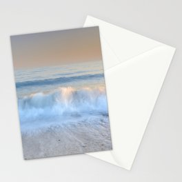 """""""Looking at the waves II"""" Sea dreams Stationery Cards"""