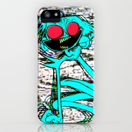 jackie attackie iPhone Case