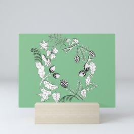 Forest Wreath Mini Art Print