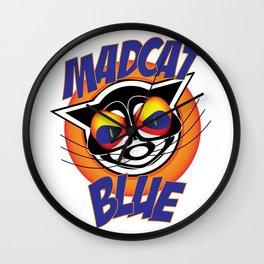 MadCat Blue Wall Clock