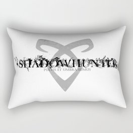Dust and Shadow Rectangular Pillow