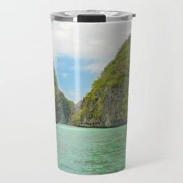 Paradise landscape El Nido Palawan Philippines Travel Mug
