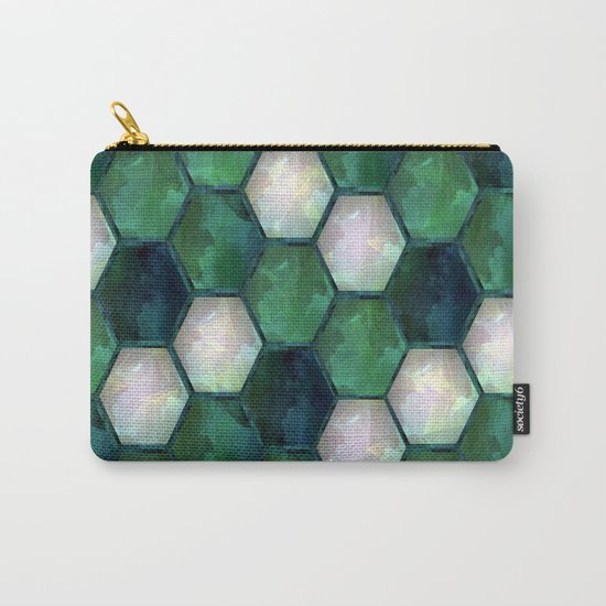 Geometric abstraction. Carry-All Pouch
