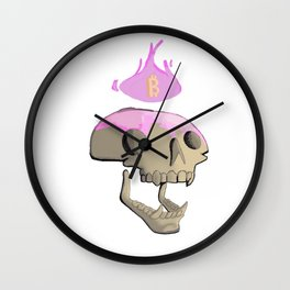 Bitcoin Burns forever in our mind grapes. Wall Clock