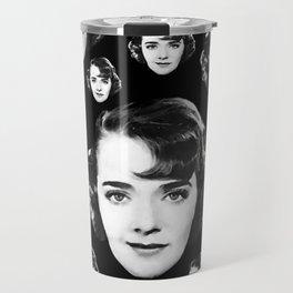 Floating Ruby Keeler Head Travel Mug
