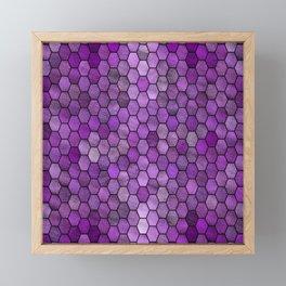 Glitter Tiles ১ Framed Mini Art Print