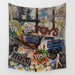 Toys for big boys,.. and girls Wall Tapestry
