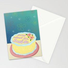 Happy Birthday Patrick Star! Stationery Cards