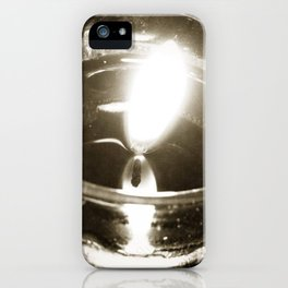 Candlelight iPhone Case