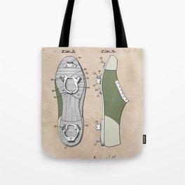 patent Harper Baseball cleat 1928 Tote Bag