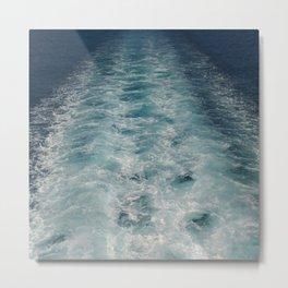 Sea Trails 1 Metal Print
