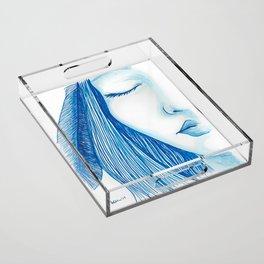 Resolve Acrylic Tray