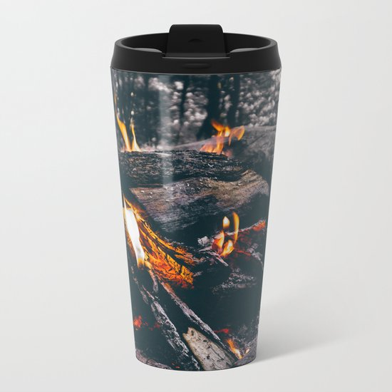 Burn Brightly Metal Travel Mug