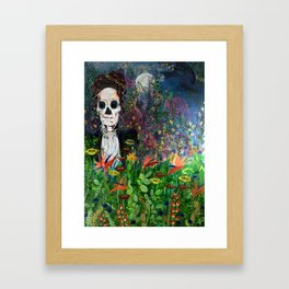 The cycle of Life and Death Framed Art Print