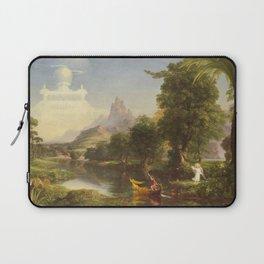 Thomas Cole The Voyage Of Life Youth 1842 Laptop Sleeve
