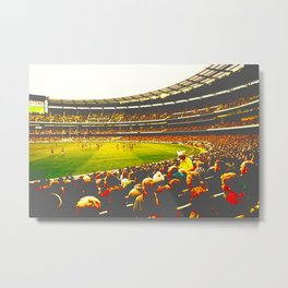Melbourne Cricket Ground 077 Vamped Metal Print