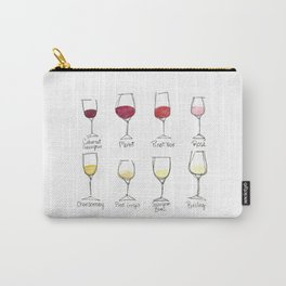 Colors of Wine Carry-All Pouch