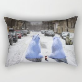 The bears are in town Rectangular Pillow