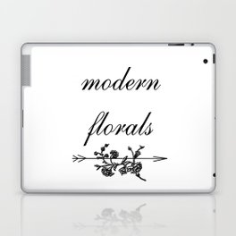 modern florals 2 . Home Decor Graphicdesign Laptop & iPad Skin