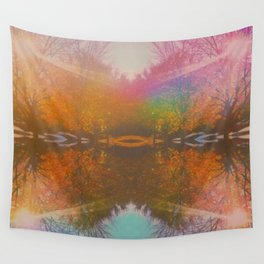Landscape Remix Wall Tapestry