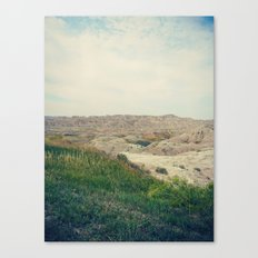 The Badlands / South Dakota Canvas Print