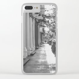 One Fine Morning in Soho Clear iPhone Case