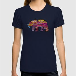 Bear in Different Languages T-shirt