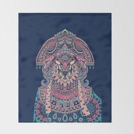 Queen of Solitude Throw Blanket