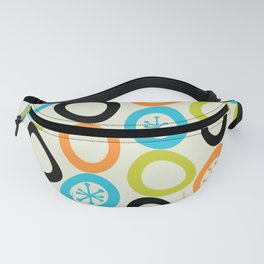 Mid Century Modern Pebbles 3 Fanny Pack