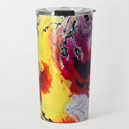 Watercolour Splatter Travel Mug