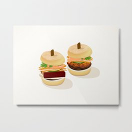 Banh Mi @ Ms Gs Metal Print