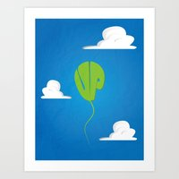 Up Movie Poster Art Print