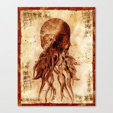 OctopuSkull Canvas Print