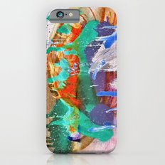 Grunge Abstract Watercolour 2 iPhone 6s Slim Case