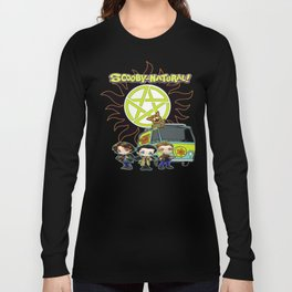 Scoobynatural And The Crew Long Sleeve T-shirt