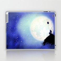 The man & the moon Laptop & iPad Skin
