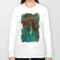 """surrealism Long Sleeve T-shirts featuring """"The Gate"""" Dark Surrealism by judgehydrogen"""
