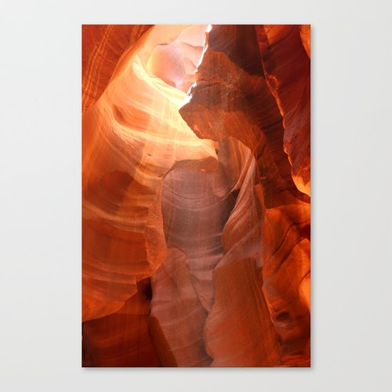 Magical Antelope Canyon Canvas Print